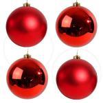 Tree balls glass 8cm