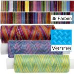 Venne Cotton Yarn - multicolor, hand dyed