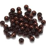 Wooden Beads sepia