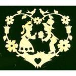 Holzhänger - Hochzeitspaar