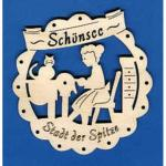 Wooden Hanger - Schoensee - Stadt der Spitze