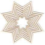 Wooden Frame Star
