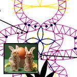 Pattern Rabbit Couple