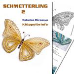 Klöppelbrief Schmetterling 2