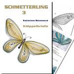 Klöppelbrief Schmetterling 3
