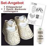 Pattern baby shoes + yarn