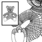 Klöppelbrief Bär