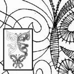 Pattern Butterfly, double