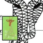 Pattern giraffe