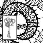 Klöppelbrief Vogel- & Blumenphantasien 2