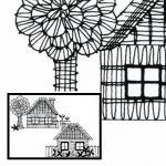 Klöppelbrief 2 Häuser