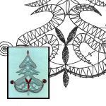Klöppelbrief Baum