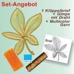 Pattern Chestnut leaf SET