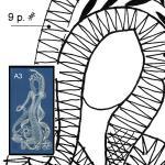 Klöppelbrief Wassernymphe