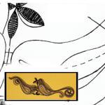 Klöppelbrief Glaskerzenhalter Vögel