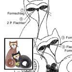 Klöppelbrief Katzenliebe 3