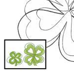 Pattern cloverleaf