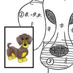 Pattern dachshund