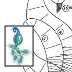 Pattern peacock
