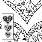 Pattern 3-part Hearts (Size 1, 2 & 3)