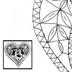 Pattern Heart (Size 3)