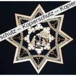 Klöppelbrief Stern (Gr. 6)
