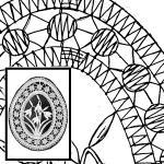 Klöppelbrief - Frühlingsgruß - Schneeglöckchen