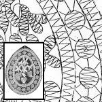 Klöppelbrief - Frühlingsgruß - Veilchen