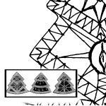 Klöppelbrief Minibaum