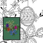Pattern Spring Bouquet