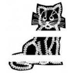 Klöppelbrief Kätzchen
