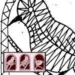 Klöppelbrief Singvogel (Gr. 1)