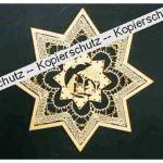 Klöppelbrief Stern (Gr. 7)