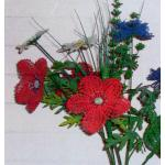 Pattern - Lace Flowers - Poppy