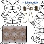 "Pattern jewellery set ""Konkav"""