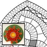 Klöppelbrief Seerose
