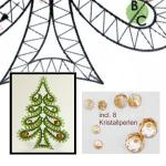 Pattern chrstmas tree craft set