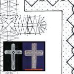Klöppelbrief Kreuz
