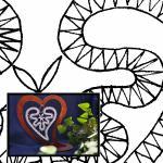 Klöppelbrief Herz