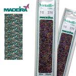 MADEIRA Metallic Perle Nr. 10 - Schwarz