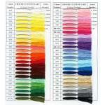 Venus Crochet Cotton Yarn - NEW Color-Card