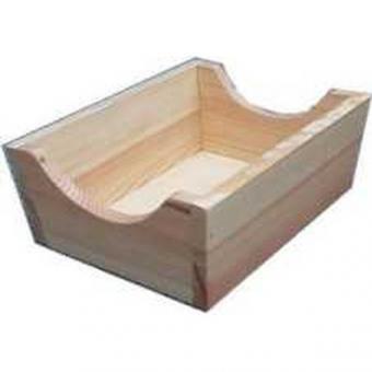 Holz-Klöppelschachtel für Klöppelsack