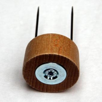 Klöppel-Leuchtenhalter