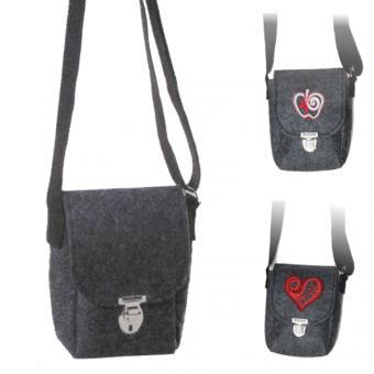 Filz - Überschlagtasche