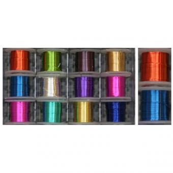 Wire Colored, 12 Spools