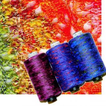 Yaspé Shantung Seide - Set Schal