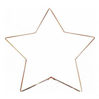 Rahmen Stern groß, 5-Zack