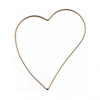 Metallrahmen schiefes Herz