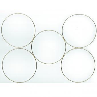Metal rings 10cm