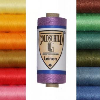 Goldschild Leinengarn - farbig - NeL 30/3